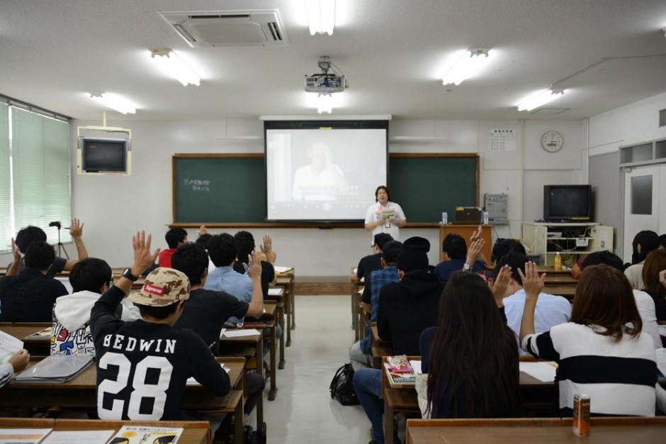 沖縄国際大学で社長講話を行いました。:イメージ