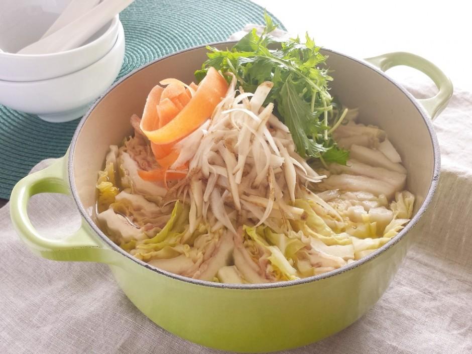白菜重ね鍋 (1)